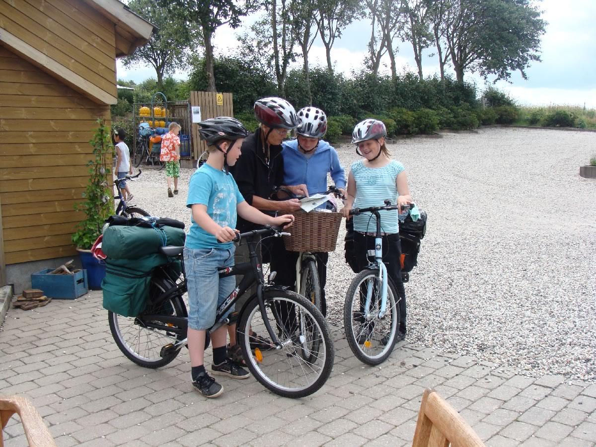 Cykelferie ved Hjarbæk Fjord Camping