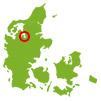 Hjarbæk Fjord Camping - Placering